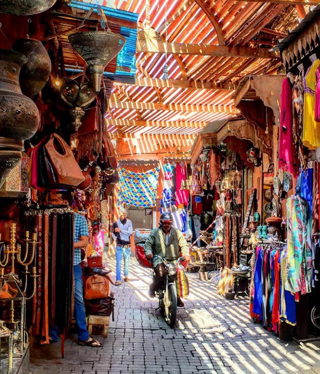 Medina Markt Marrakesch