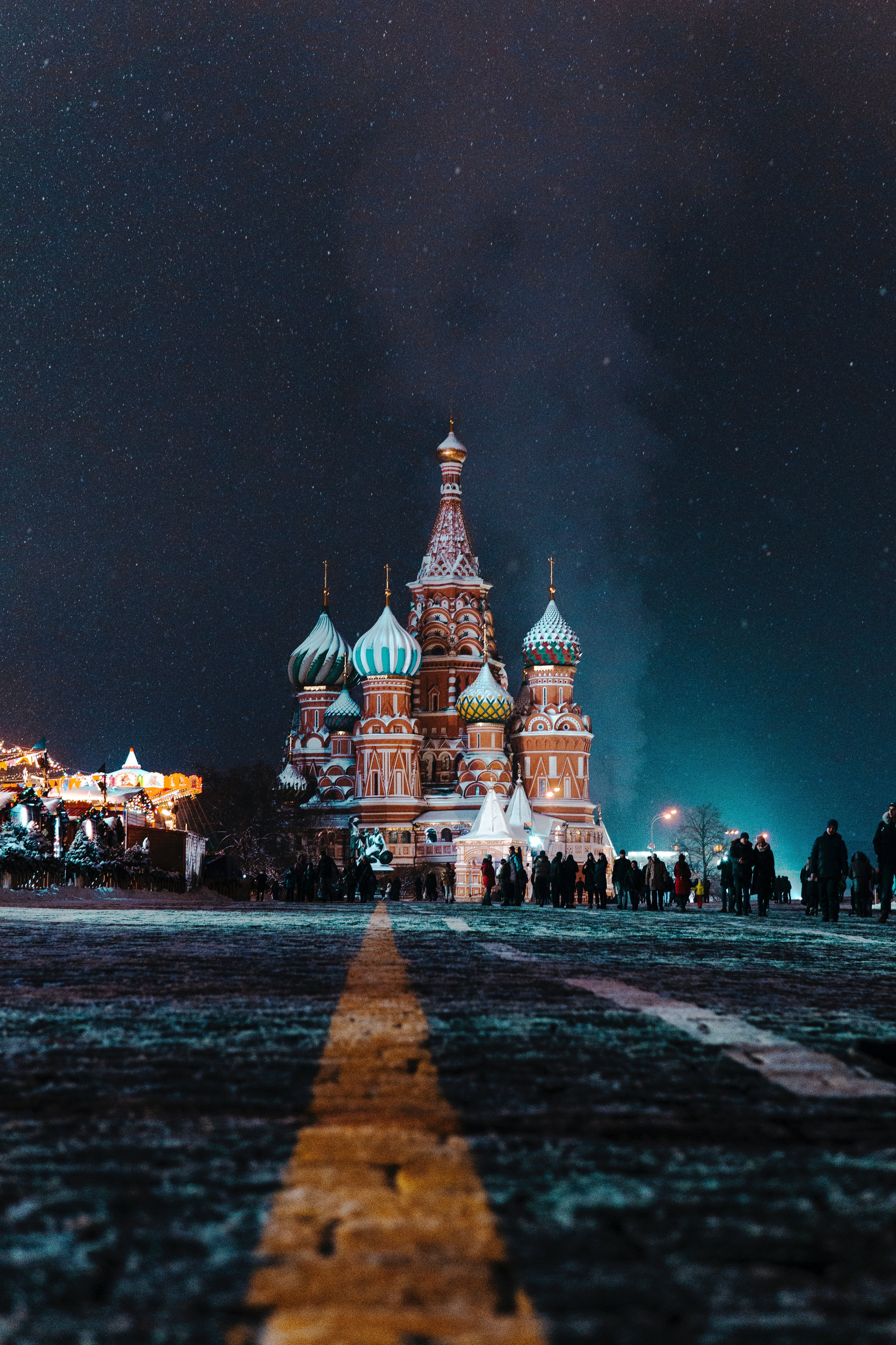 Mig31 Kremlin bei Nacht
