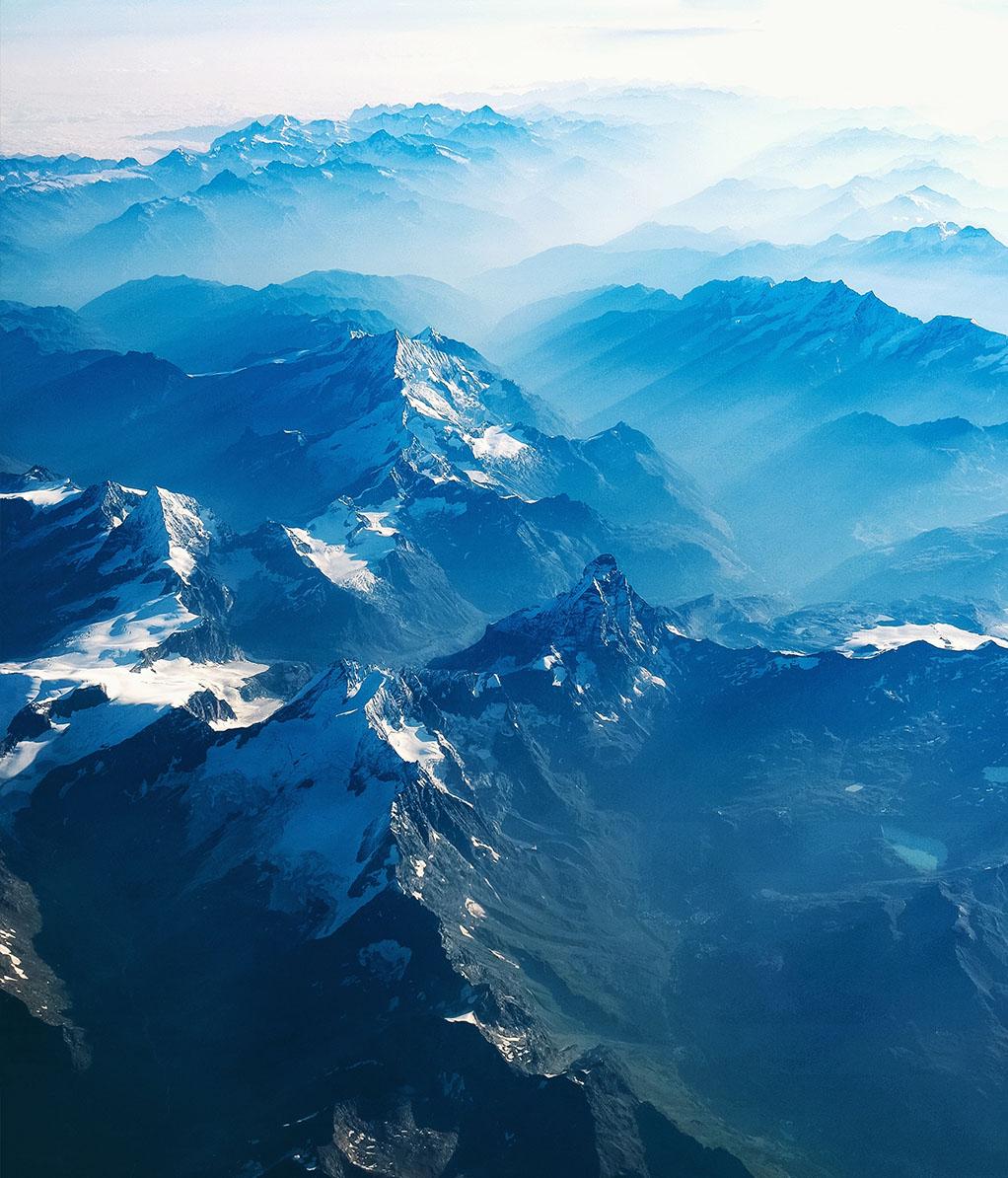 Panorama Alpenkette