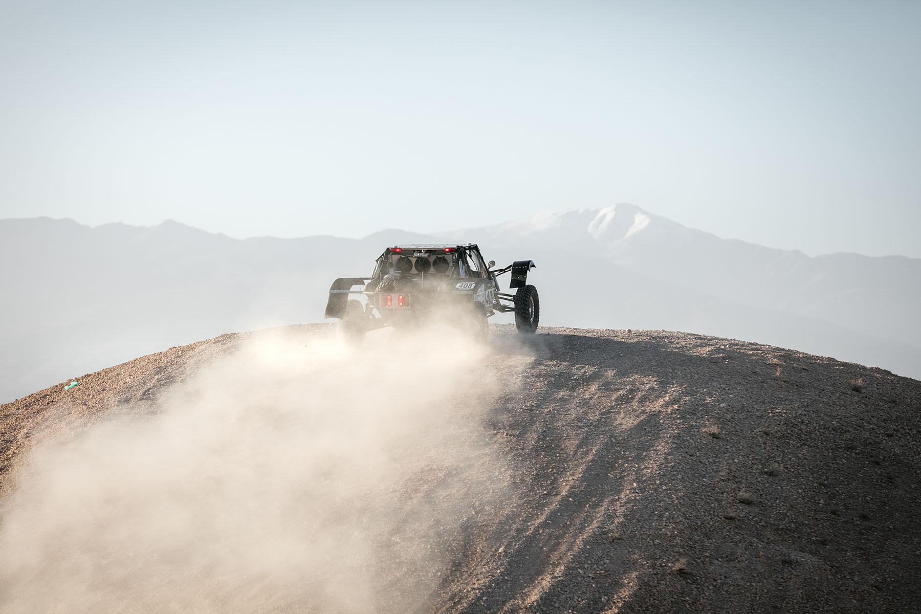 Rally Marokko Buggie in Action