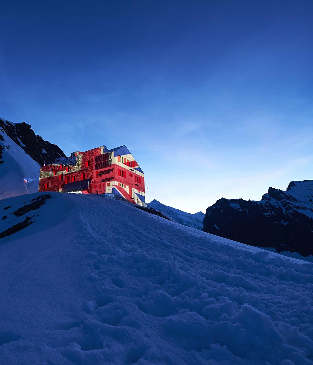 Tour 3: Britanniahütte Saas Fee 7 - 8 Juni
