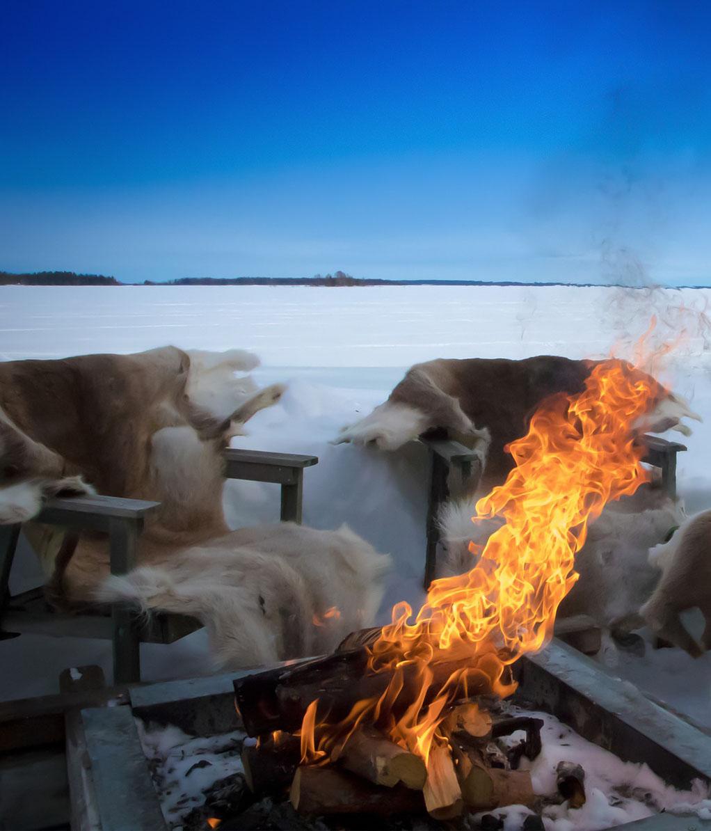 Lapland Feuer