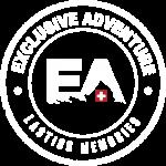 Logo white red transperent